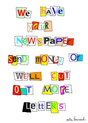 How to write ransom notes