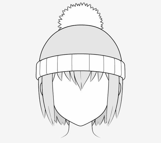 Vẽ nón len anime
