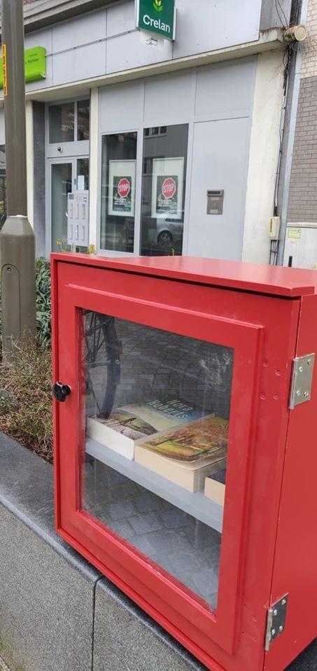 Boekenruilkastje Ganzendries Mechelen