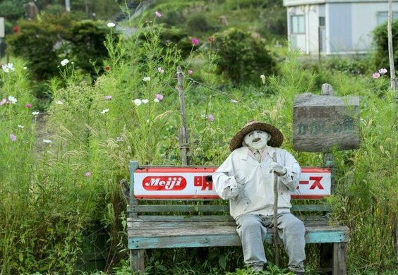 Scary Village in Japan: Scarecrows Illustrate Lives Of Japanese Countryside ~ Cool Stuff Directory