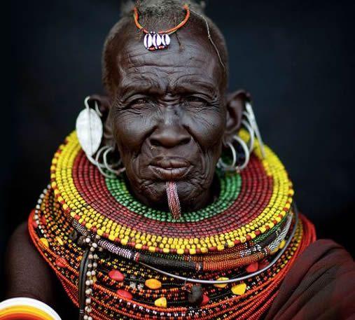 turkana woman, kenya