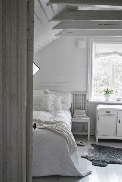 attic bedroom Julias Vita Drömmar