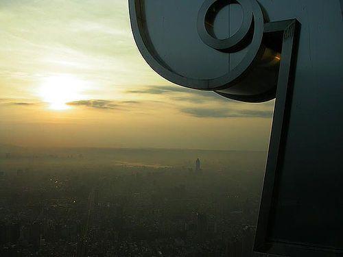 taipei 101 sunset, via Flickr...By iamtonyang