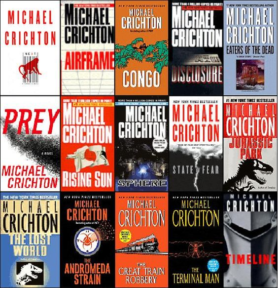 Michael Crichton is one of the best writers and although he is no longer with us, his work has him living forever.