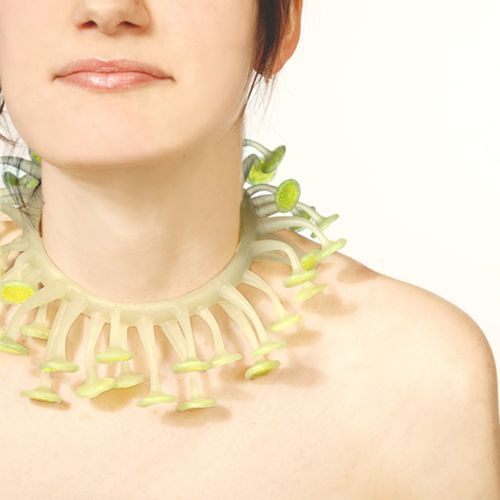 Lumini necklace- green