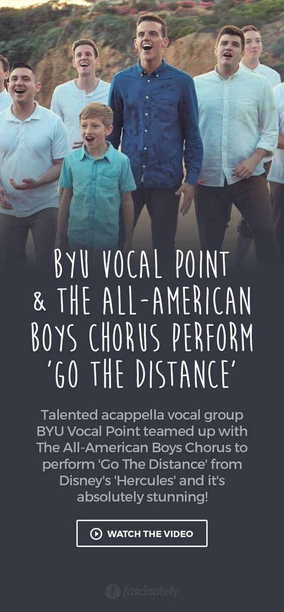 BYU Vocal Point & The All-American Boys Chorus Perform 'Go ...