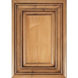 In darker finish bottom island diamond caldwell for Caldwell kitchen cabinets