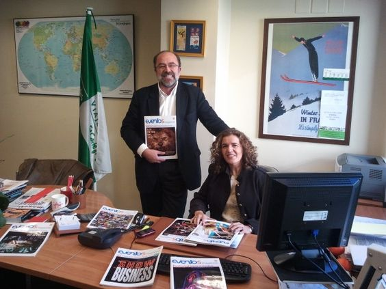 Ignacio Costa y Nancy Sanz de Viajes El Corte Inglés