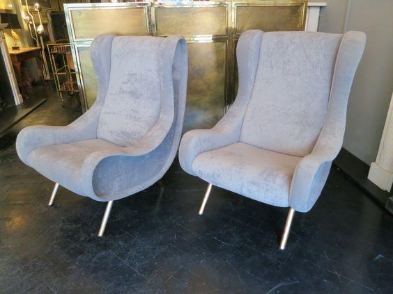 A Pair of Marco Zanuso Chairs   Circa Battersea