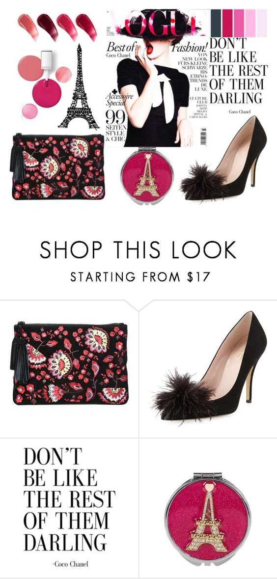 """""""Whatever Coco Wants"""" by mavinex-de-nova ❤ liked on Polyvore featuring Alexander McQueen, Loeffler Randall, Kate Spade, Betsey Johnson, Lipstick Queen and Clinique"""
