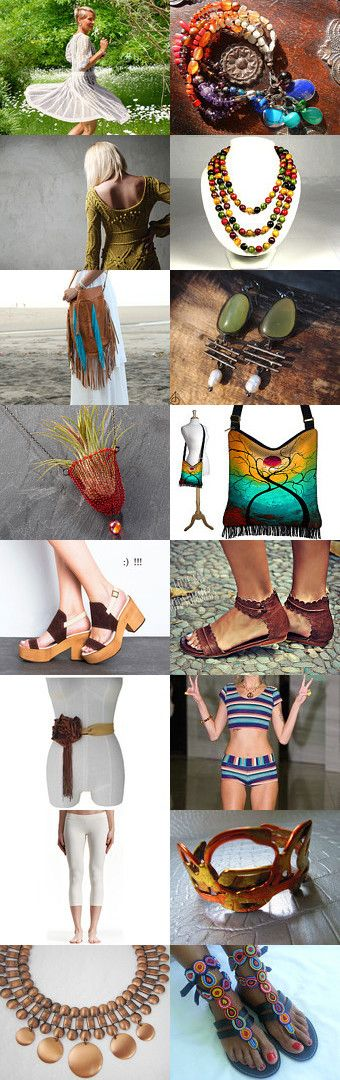 70s Boho Fashion: A Modern Twist by v385 on Etsy--Pinned with TreasuryPin.com