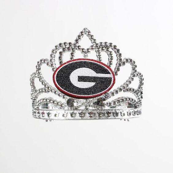 Georgia Bulldogs NCAA Crown Tiara