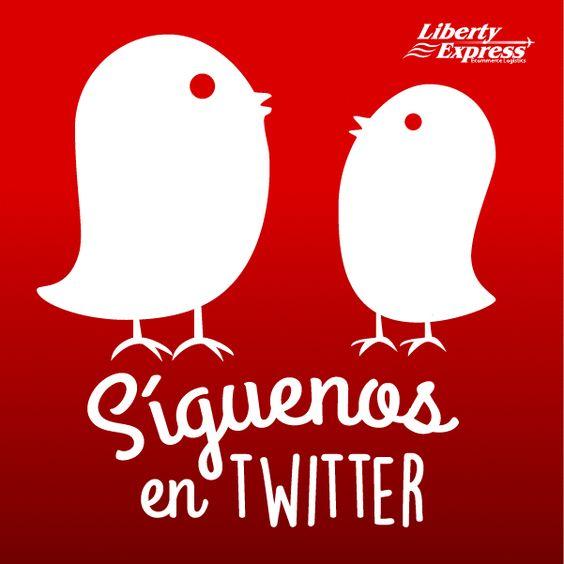 Síguenos en Twitter en nuestra cuenta @LibertyExpEs