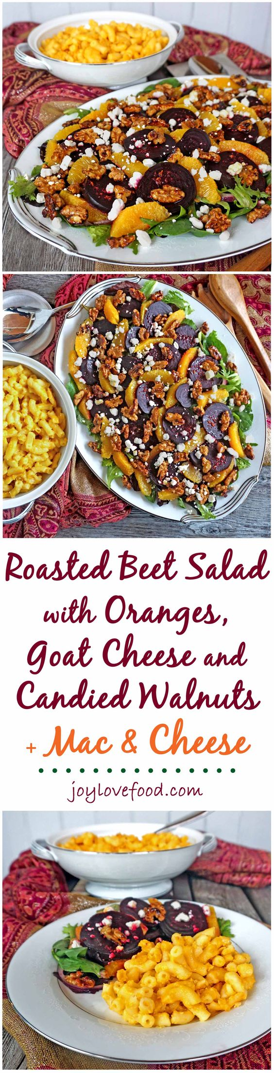 salad roasted beets mac cheese beets goat cheese goats mac easy ...