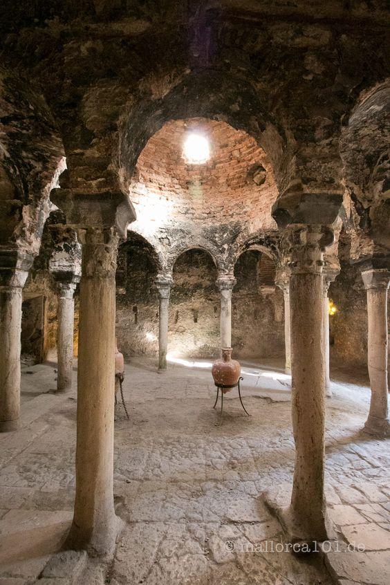 Historisches arabisches Bad in Palma de Mallorca - mallorca101.de