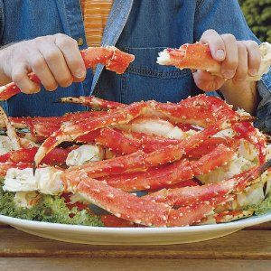 MY ALL TIME FAVORITE! Alaskan King Crab!