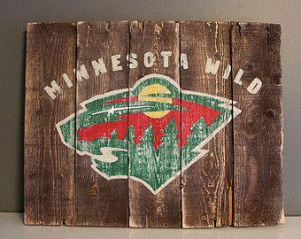 "Minnesota Wild Wood Art Sign 14""x17"""