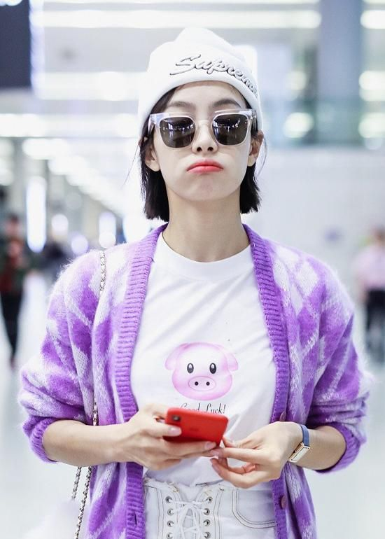 Chinese Celebrity Airport Fashion October 15 21 Victoria Nữ Thần