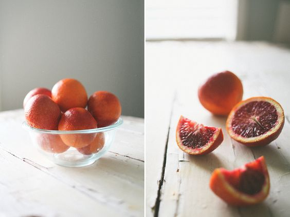 Blood Orange, Prosecco & Thyme Sorbet