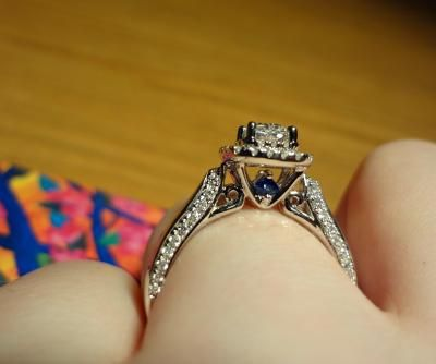 Blue Sapphire Dream Ring And Diamonds On Pinterest