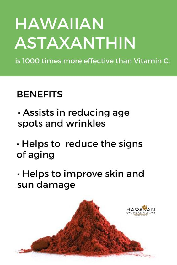 Meet Our Ingredients: Hawaiian Astaxanthin. Why we add it to our natural and organic beauty products. Hawaiian Healing #HawaiianHealing #VitaminC #vitamins #skincare