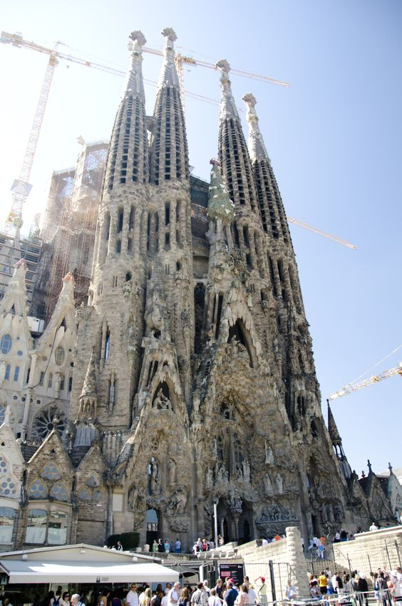 Sagrada Familia - Barcelona - under construction since 1882!