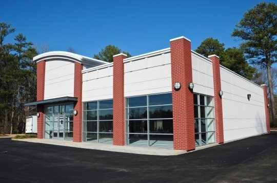 Hiring A Commercial Painting Company Building Design Plan Building Design Commercial Steel Buildings