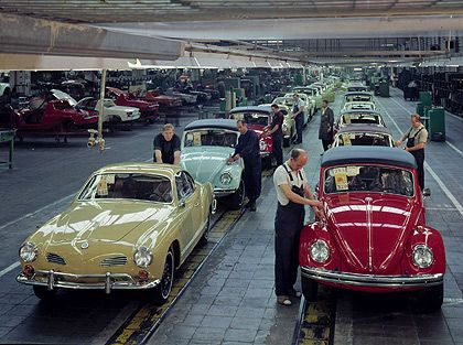 VW Käfer und Ghia 1969
