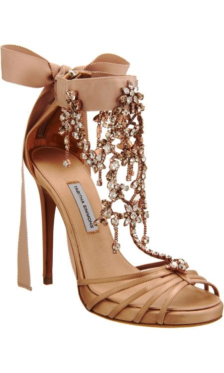 *.* Tabitha Simmons jeweled shoes