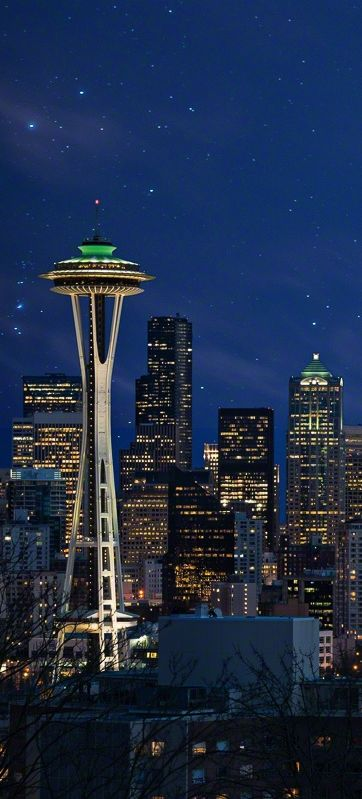 Seattle Skyline, USA