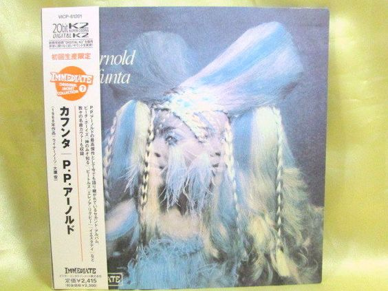 CD/Japan- P. P. ARNOLD Kafunta w/OBI RARE MINI-LP 1968 remaster VICP-61201 #Soul