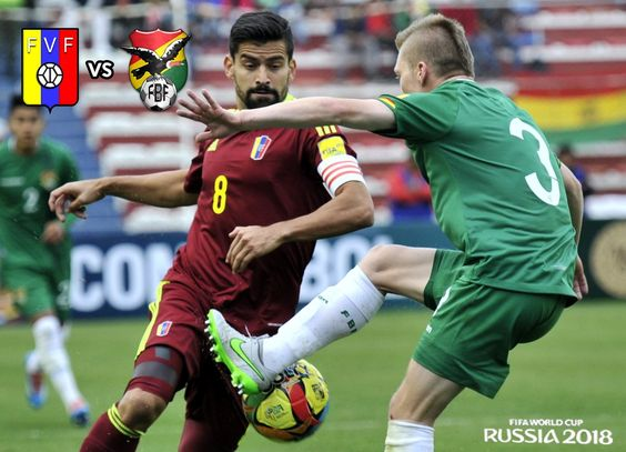 Venezuela aplasta 5-0 a Bolivia y gana por primera vez rumbo a Rusia