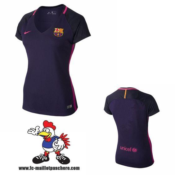 Nouveau maillots fc barcelone femme exterieur 2016 2017 for Barcelone maillot exterieur