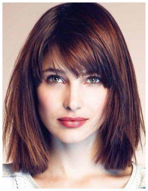 Cute Medium Length Hairstyles For Fine Hair Shorthaircuts Finethinhair Click The Image No Square Face Hairstyles Medium Hair Styles Medium Length Hair Styles