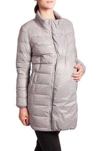 Modern Eternity Convertible Lightweight Down Maternity Jacket ...
