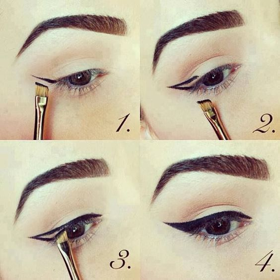 How to make a kitten eyeliner:
