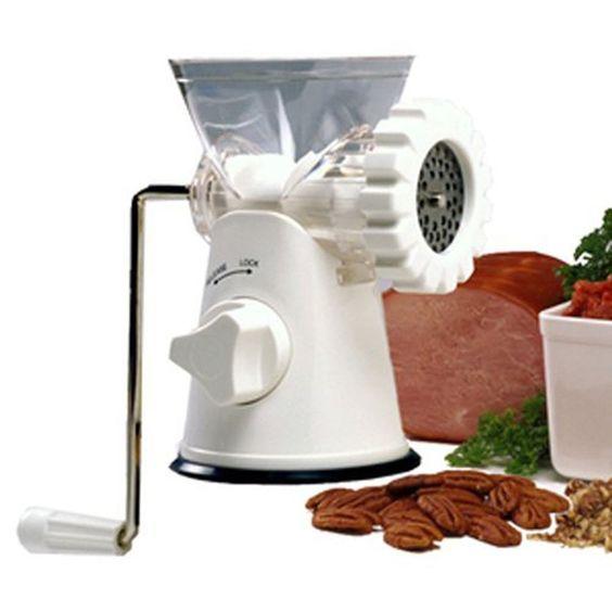 Meat Grinder Mincer Pasta Maker Grinders Kitchen Tool Tools Slicer Hand Manual