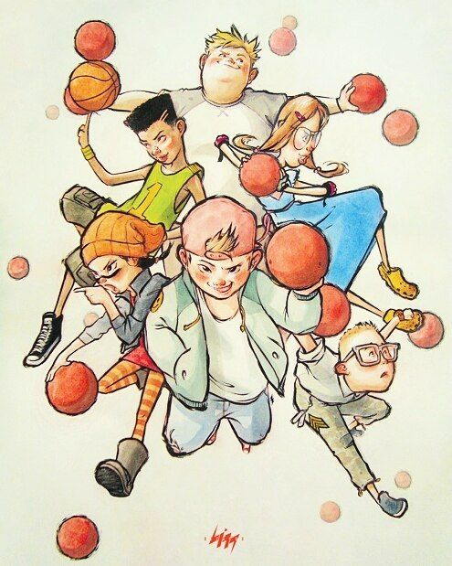 Recess Repost 90s Cartoon Tvshow Disney Ball Childhood