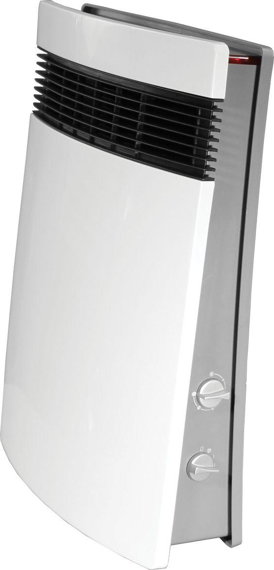 1 500 watt wall mounted electric fan wall insert heater. Black Bedroom Furniture Sets. Home Design Ideas