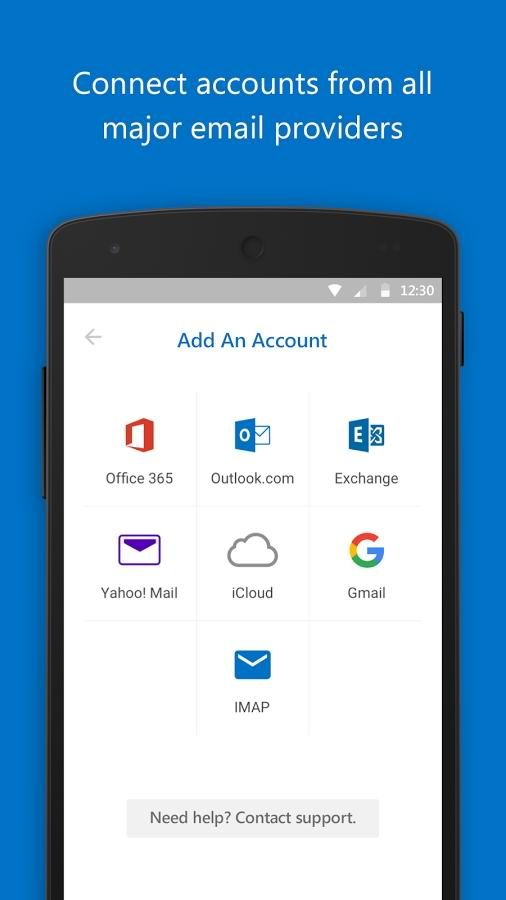 دانلود برنامه مدیریت ایمیل مایکروسافت اندروید Microsoft Outlook