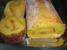 Receita de Torta de Iogurte, Pão e Laranja .:. Kitchenet .:. Livro de culinária do aeiou