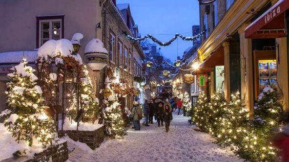 Rien ne vaut une balade dans les ruelles du Vieux-Québec pour ressentir l'énergie du temps des Fêtes... - Photo Ville de Québec: