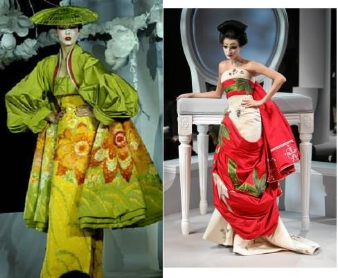 Kimonos traditional japanese and japanese style on pinterest for American haute couture