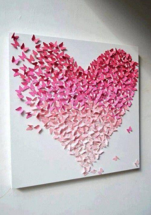 Zeer Valentijn knutselen; originele DIY ideeën om binnen no-time iets #YM75