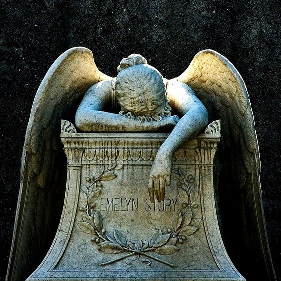 Angel of Grief Fairytale Fantasy Gothic Art Pinterest