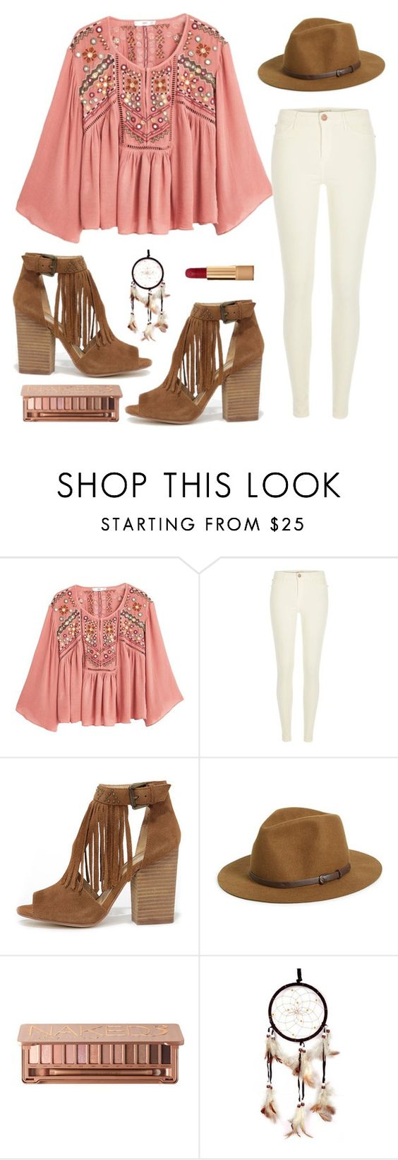 """Boho"" by kbeans2016 ❤ liked on Polyvore featuring MANGO, River Island, Chinese Laundry, Sole Society, Urban Decay, Chanel, women's clothing, women, female and woman"