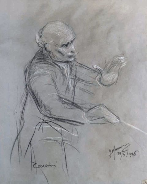 Toscanini by Gianni Maimeri