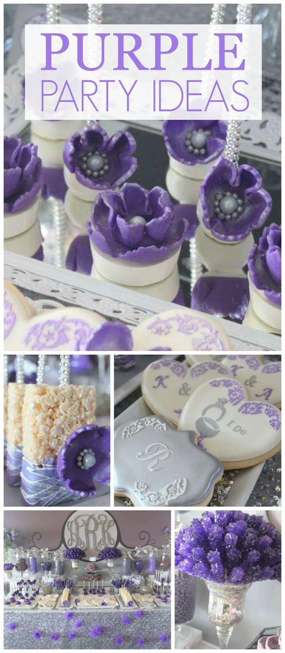 ... this purple party! See more party planning ideas at CatchMyParty.com