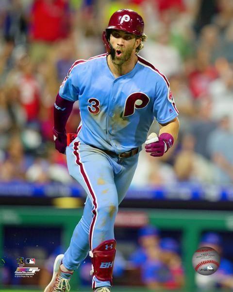 Bryce Harper Walk Off Grand Slam Celebration Philadelphia Phillies Mlb Baseball 8 X 10 Photo Phillies Baseball Philadelphia Phillies Phillies
