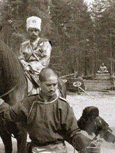 Барон Унгерн фон Штернберг в Монголии.